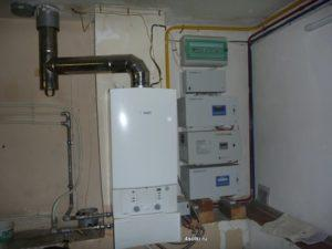 газовое отопление в доме Новая Москва