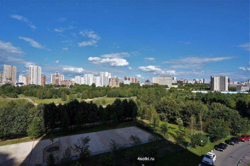 Аренда квартиры в Москве с видом на новый парк